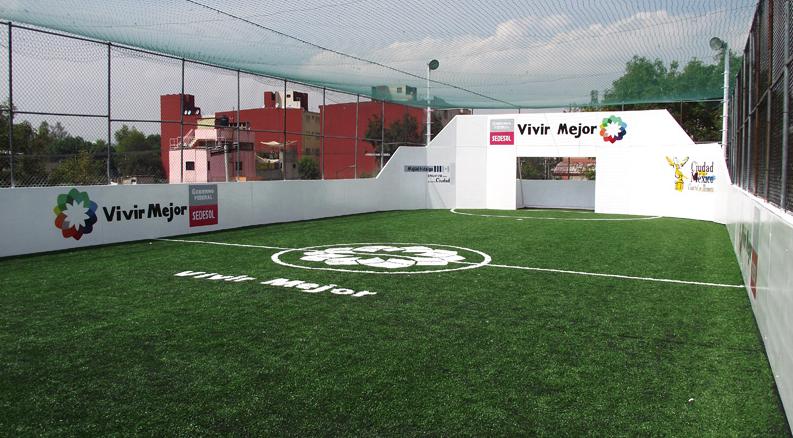 Cancha de fútbol Rapído pasto sintético – México D.F. You are here  Home ·  Portfolio  Cancha de fútbol Rapído pasto sintético – México D.F 3225dd2785a99